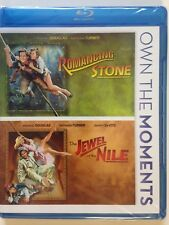 Romancing the Stone/Jewel of the Nile (Blu-ray Disc, 2012, 2-Disc Set)(NEW)