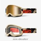 2021 100 % Prozent Brille Strata2 Kombat Camo Motocross Enduro Downhill MTB DH