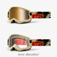 100 % Prozent Brille Strata2 Kombat Camo Motocross Enduro Downhill MTB DH