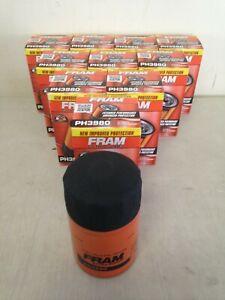TEN(10) Fram PH3980 Oil Filter CASE fits PF52 PH51A 51036 L24011 V4011 LF393