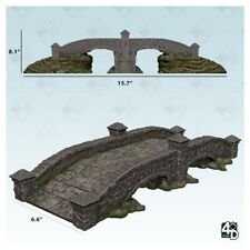 RPG Miniatures Environment and Scenery WizKids 4D Settings: Stone Bridge