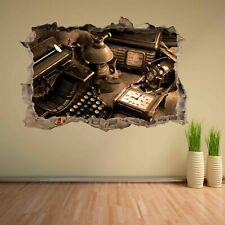 Vintage Antique Items Wall Sticker Mural Decal Home Office Decor CK42
