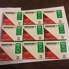 """9000 staples Arrow JT21  JT-21 3/8"""" (10mm)  #276 Staples fits Stanley TR45"""