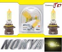 Nokya 2500K Yellow 9006XS HB4A Nok7619 55W Two Bulbs Head Light Low Beam Replace