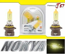 Nokya 2500K Yellow 9006XS HB4A Nok7619 55W Head Light Bulb Low Beam Replacement