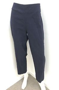 TAKING SHAPE navy blue stretch crop leg Pants ~ sz 18