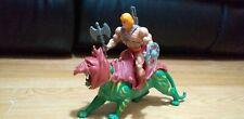 MOTU He Man Battle Cat Axe Sword Shield Armour masters of the universe 1981 1983