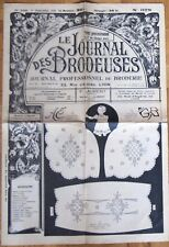 LE JOURNAL DES BRODEUSES N° 678- 1951 - Alphabets- Layette-Ecussons- Lingerie