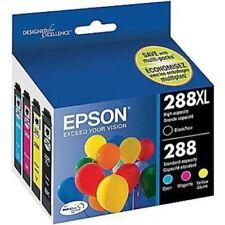 Epson T288XL-BCS 4-Pack Ink Cartridges
