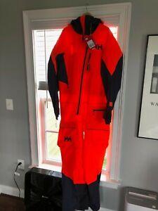 Helly Hansen ULLR Powder Suit - Brand New with Tags - 2XL Neon orange 65565-278
