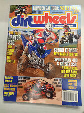 Dirt Wheels Magazine Raptor 250 Project KFX450 November 2007 032617nonR
