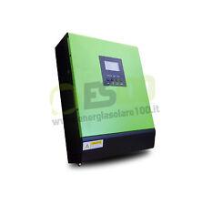 Inverter Ibrido Solare onda pura 3KVA 2.4kW 24V + Regolatore di Carica 50A PWM