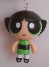 Custom Ornament Made From Cartoon Network Powerpuff Girls Buttercup Smiling