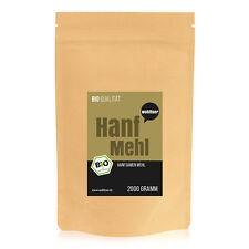7,95€/kg Wohltuer Bio Hanfmehl Hanf Mehl Ballaststoffe 2kg
