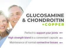 Glucosamine & Chondroitin 500mg/400mg 60 Capsules Easy Swallow Joint Care Health