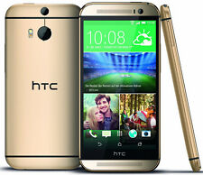 "New HTC One M8 AT&T Unlocked 4G LTE GSM 32GB 5"" Android Smartphone Gold"