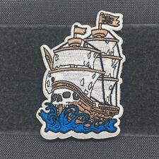 Adrift Venture - Steady as she goes Morale Patch - pirate ship skallywag