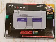 NEW Nintendo New 3DS XL SNES Super NES Edition (Includes Super Mario Kart)