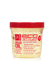 ECO Styler Argan Oil Professional Hair Conditioning No Flake Styling Hair Gel