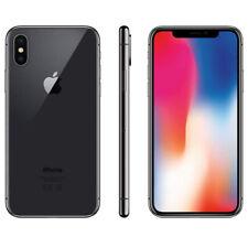 IPHONE X RICONDIZIONATO 256GB GRADO A BIANCO SILVER NERO BLACK APPLE RIGENERATO
