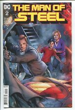 THE MAN OF STEEL #2 - BRIAN MICHAEL BENDIS STORY - STEVE RUDE ART - DC/2018