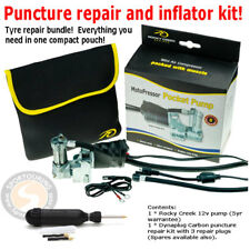 Dynaplug Reifen Reparatur & 12v Kompressor Kit-Compact & Heavy Duty