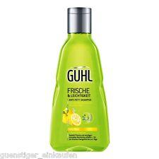 (21,96 €/ L) 250ml Guhl FRESCHI & Leichtigkeit Anti Grasso Shampoo YUZU AGRUMI