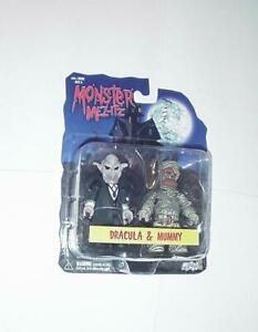 Mezco Monster Mez-Itz: Dracula & Mummy 2-Pack NEW IN PACKAGE