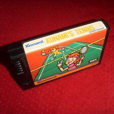 🆒 tennis-msx konami rc720 vintage 1984