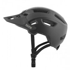 TSG Bicycle Helmet Trailfox Solid Color Satin Black