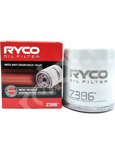 Ryco Oil Filter FOR TOYOTA PASEO EL54 (Z386)