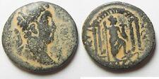 ZURQIEH -mk3118- DECAPOLIS. NYSA-SCYTHOPOLIS UNDER COMMODUS (AD 180-192). AE 28M