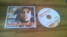 CD Reggae Bob Marley -  I Know A Place (3 Song) Promo TUFF GONG sc