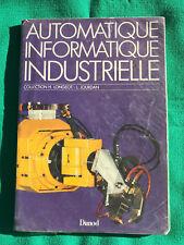 livre : Automatique, informatique industrielle