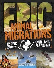 ANIMAL MIGRATIONS - DE LA BEDOYERE, CAMILLA - NEW HARDCOVER BOOK