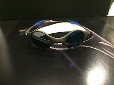 OAKLEY X METAL MARS BLUE RUBBER X METAL FRAME / ICE IRIDIUM LENS