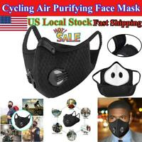 New Air Purifying Face Mouth Washable Anti Dust Fog Cycling Riding Outdoor