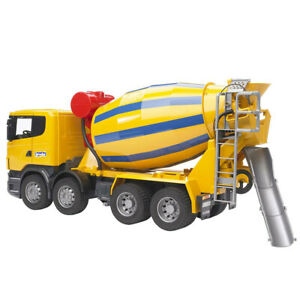 Bruder 1:16 57cm Scania R-Series Construction Cement Mixer Truck Kid 4y+ Vehicle