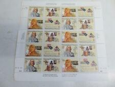 old sheet of USA stamps mint stamps POSTAL MUSEUM