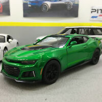 Chevrolet Camaro ZL1 2017 Green/Black 1:24 Scale Die-Cast Model Car