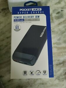 Tzumi Pocket Juice NEW Hyper Charge Power Delivery 18W