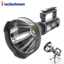 Ultra Bright 200000LM XHP70 LED Flashlight Rechargeable 4 Modes Searchlight