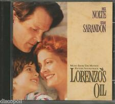 LORENZO'S OIL - CD OST 1992 USED MINT CONDITION