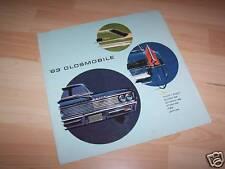 Dépliant pub / Sales folder OLDSMOBILE 1963 USA //