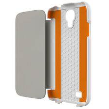 NEW TECH21 D30 IMPACT SNAP CASE WITH COVER FOR SAMSUNG GALAXY S4 WHITE T21-3134