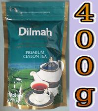 SRI LANKA LOOSE TEA 400g - DILMAH PREMIUM TEA - PURE CEYLON TEA 400g PACK -BLACK
