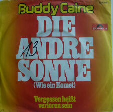 """7"""" 1976 RARE ! BUDDY CAINE : Die andre Sonne /VG+?"""