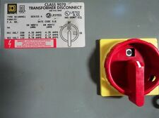 SQUARE D CLASS 9070 TRANSFORMER DISCONNECT Type SK1000SG1  (9070SK1000G1D1G13)