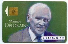 TELECARTE 50  MAURICE DELORAINE