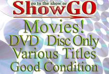 Movies & Shows G-L (Dvd) *Disc Only* Good Condition - Read Description